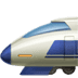 🚅 bullet train Emoji on Apple Platform