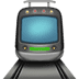 🚊 tram Emoji on Apple Platform