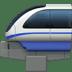 🚝 monorail Emoji on Apple Platform