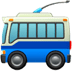 🚎 trolleybus Emoji on Apple Platform