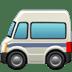 🚐 minibus Emoji on Apple Platform