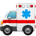 🚑 ambulance Emoji on Apple Platform