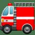 🚒 fire engine Emoji on Apple Platform