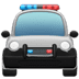 🚔 oncoming police car Emoji on Apple Platform