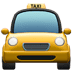 🚖 oncoming taxi Emoji on Apple Platform