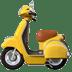 🛵 motor scooter Emoji on Apple Platform