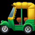 🛺 auto rickshaw Emoji on Apple Platform