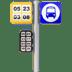 🚏 bus stop Emoji on Apple Platform
