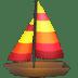 ⛵ sailboat Emoji on Apple Platform