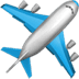 ✈️ Airplane Emoji on Apple Platform