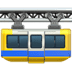 🚟 suspension railway Emoji on Apple Platform