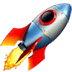 🚀 rocket Emoji on Apple Platform