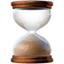 ⌛ hourglass done Emoji on Apple Platform