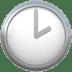 🕑 two o'clock Emoji on Apple Platform