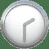 🕝 two-thirty Emoji on Apple Platform