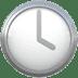 🕓 four o'clock Emoji on Apple Platform
