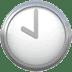 🕙 ten o'clock Emoji on Apple Platform