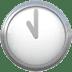 🕚 eleven o'clock Emoji on Apple Platform