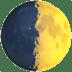 🌓 first quarter moon Emoji on Apple Platform