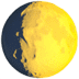 🌔 waxing gibbous moon Emoji on Apple Platform