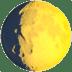 🌔 Waxing Gibbous Moon Emoji on Apple Platform