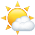 🌤️ sun behind small cloud Emoji on Apple Platform