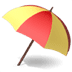 ⛱️ umbrella on ground Emoji on Apple Platform