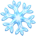 ❄️ snowflake Emoji on Apple Platform
