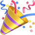 🎉 Party Popper Emoji sa Apple Platform