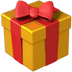 🎁 wrapped gift Emoji on Apple Platform