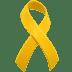 🎗️ reminder ribbon Emoji on Apple Platform