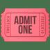 🎟️ admission tickets Emoji on Apple Platform