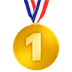 🥇 1st place medal Emoji on Apple Platform