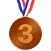 🥉 3rd place medal Emoji on Apple Platform