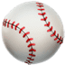 ⚾ baseball Emoji on Apple Platform