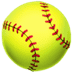 🥎 softball Emoji on Apple Platform