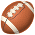 🏈 american football Emoji on Apple Platform