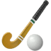 🏑 field hockey Emoji on Apple Platform