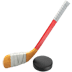 🏒 ice hockey Emoji on Apple Platform