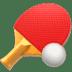 🏓 ping pong Emoji on Apple Platform