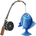🎣 fishing pole Emoji on Apple Platform
