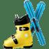🎿 skis Emoji on Apple Platform
