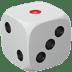 🎲 game die Emoji on Apple Platform