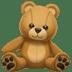 🧸 teddy bear Emoji on Apple Platform