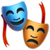 🎭 performing arts Emoji on Apple Platform