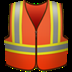🦺 safety vest Emoji on Apple Platform