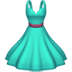 👗 dress Emoji on Apple Platform