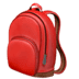 🎒 backpack Emoji on Apple Platform
