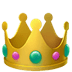👑 crown Emoji on Apple Platform