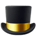 🎩 top hat Emoji on Apple Platform